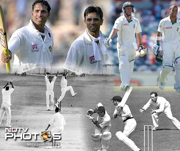 For the sheer charm of Test Cricket……