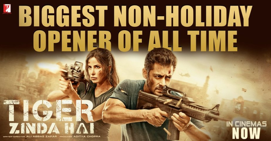 Tiger Zinda hai is over dependent on Salman Khan and his charismatic star power…